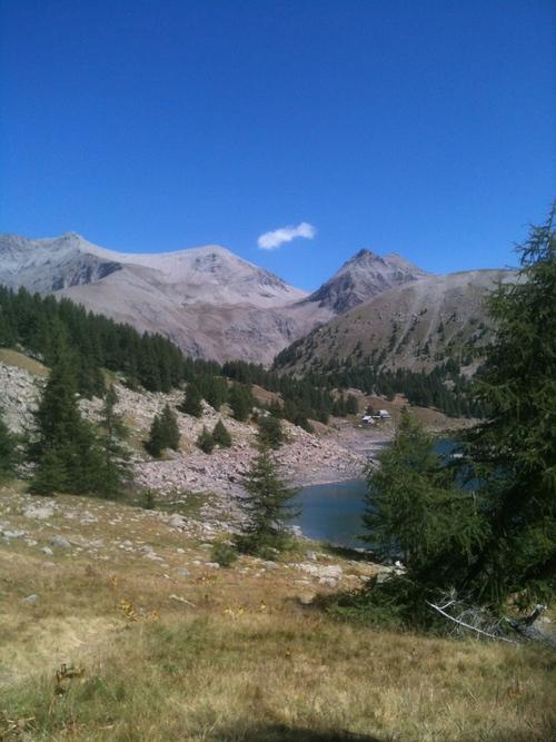 Mont Pelat et Lac d'Allos
