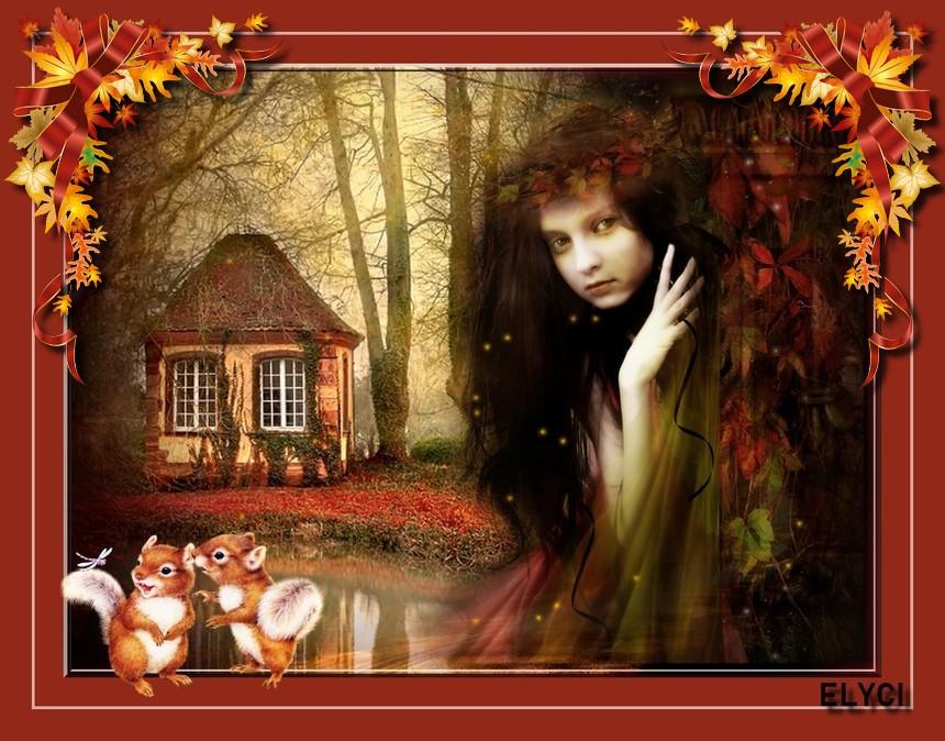 La fillette dans les bois