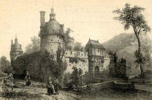 Château de La Forêt-Auvray (Orne)