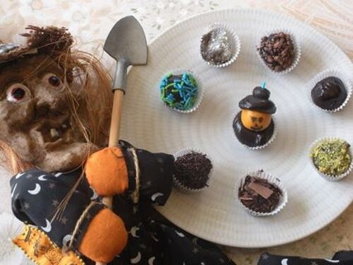 Truffes au chocolat caramel