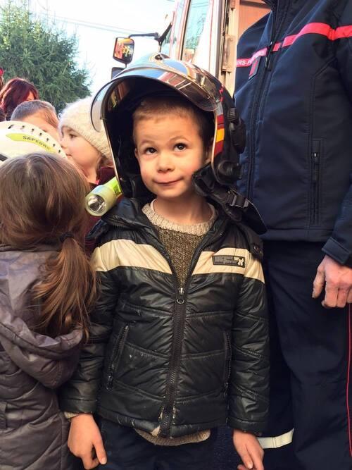 Téléthon: les petits pompiers!