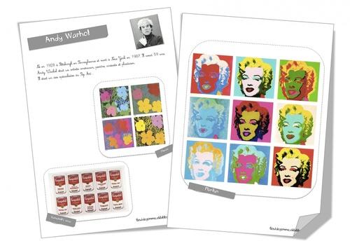 Fiche artiste :Andy Warhol