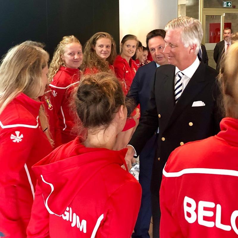 Championnat d'Europe de Hockey à Anvers!
