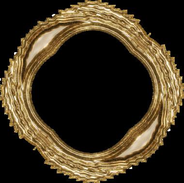 Cadres dorés série 4 vieil or