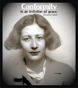 Née le 3 février 1920, Simone Weil , Philosophe française, Verseau ascendant Sagittaire, Lune en Cancer