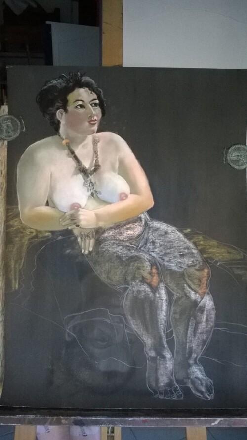 Mardi - Nu aux bijoux