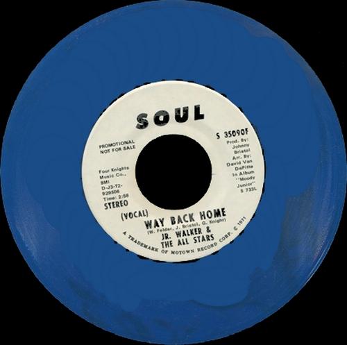 """Jr. Walker & The All Stars : Album """" Rainbow Funk """" Soul Records SS 732L [ US ]"""