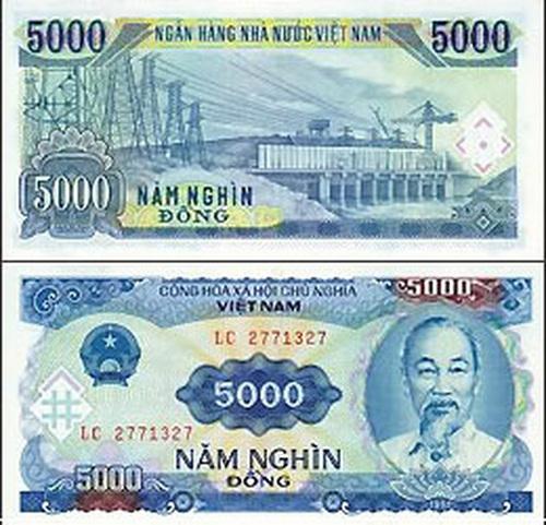 Monnaie Vietnam