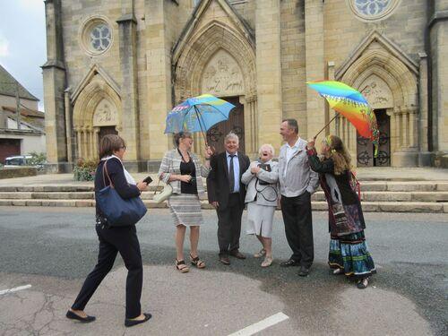 Parapluies à la noce !