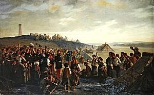 napoleon iii visiting the slat