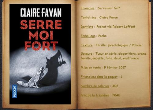Serre-moi fort - Claire Favan