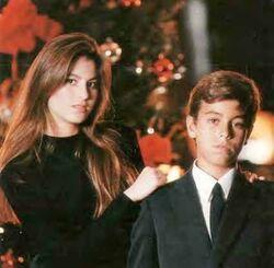 Enrique & Chábeli Iglesias