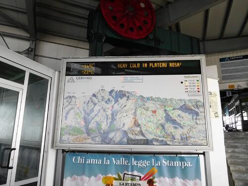 28/02/2018 Ski à Valtournenche/ Cervinia Val d'Aoste Ao Italie