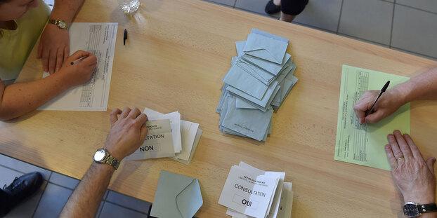 """Notre-Dames-des-Landes : le """"oui"""" l'emporte avec 55,17% des voix"""
