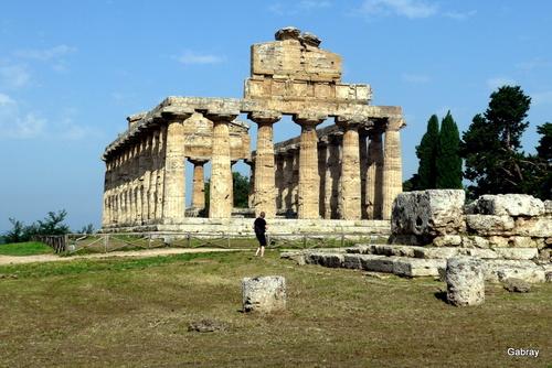 Italie, temples grecs de Paestum: temple dit d'Athéna