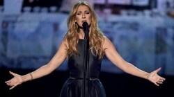Céline Dion reçoit un disque de diamant