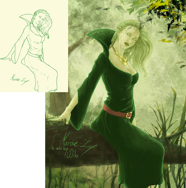 """Elfe"" avec Marie-Lo"