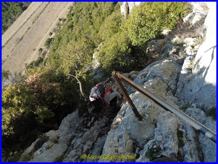Monts de  Gigondas, la dent du Turc