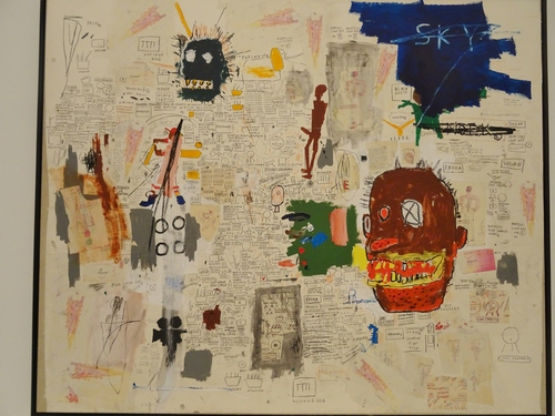 Fin de l'exposition Basquiat à la Fondation Vuitton (photos)