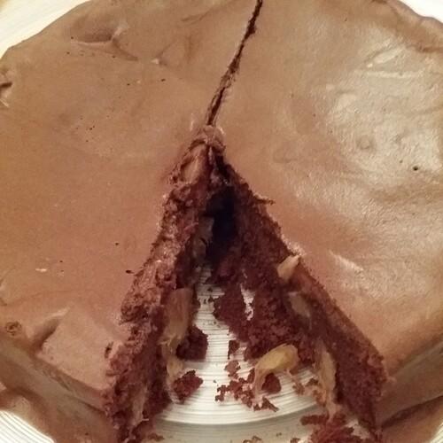Dessert : Gâteau au Chocolat et à l'Ananas (Ou autres selon préférence)