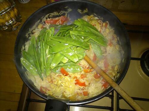 Riz au curry, légumes et lait de coco...pour faire voyager nos papilles