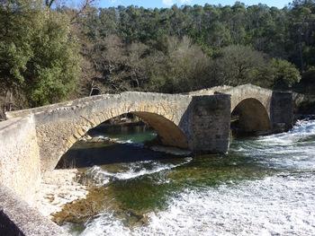 Le pont depuis la rive gauche