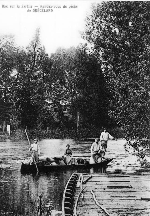La maison du passeur devient communale en 1876 mais 20 ans plus tard la construction du pont du tramway ne nécessitait plus le passage par bac