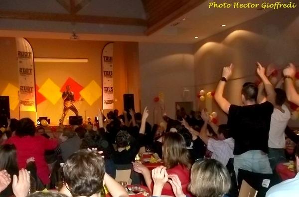 Le diner-spectacle de Tous ensemble au profit de Romain, a eu un très grand succès !