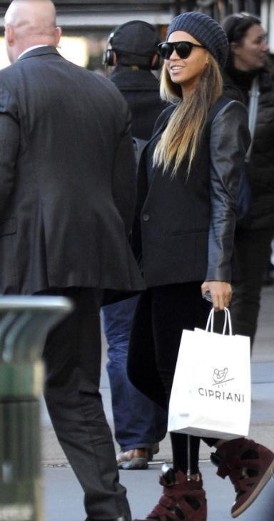 Beyonce en mode Shopping !