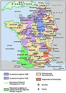 1011263-La France au temps de Philippe Auguste