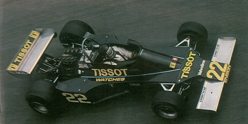 Team Tissot Ensign - Ensign N-176 - Ford Cosworth DFV V8 3.0