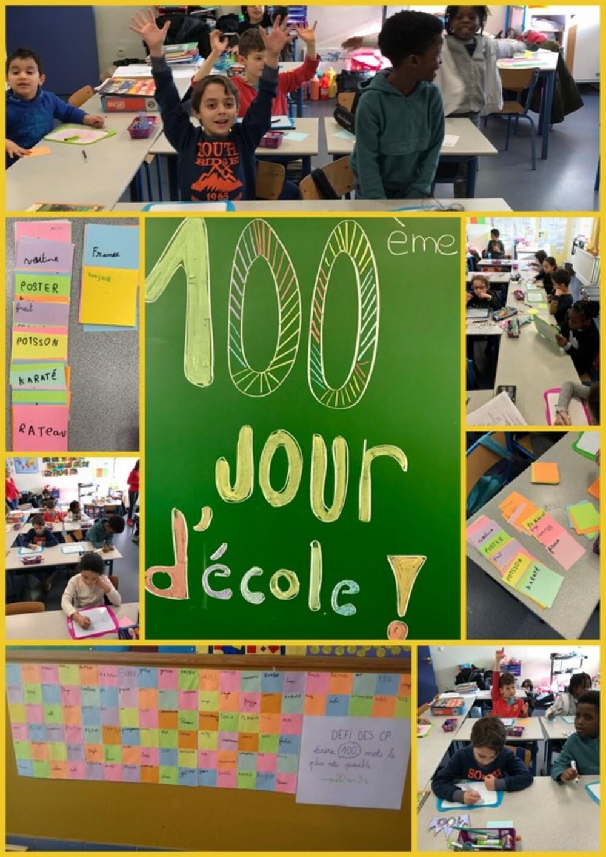 100ème jour d'école!!!