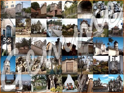 mosaïque de photos du petit patrimoine