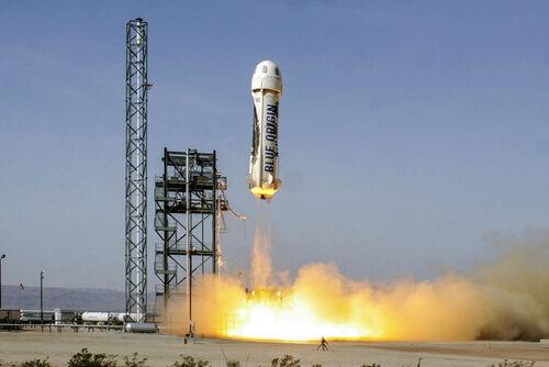 28 Millions de $ la place pour accompagner Jeff Bezos
