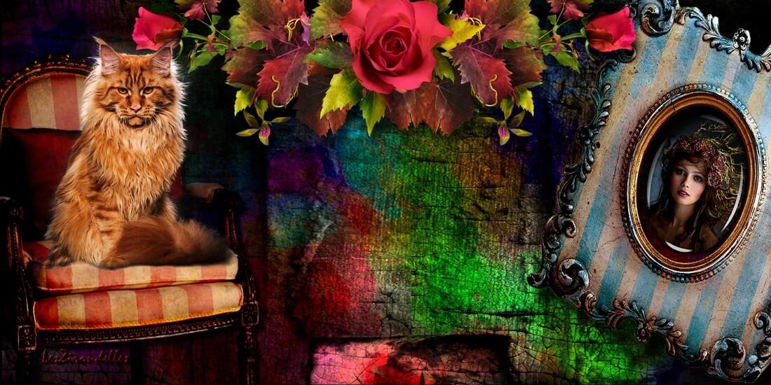 Grands fonds d'automne vintage, Les dernières roses