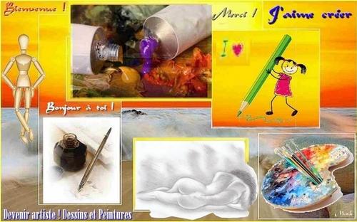 Créer ses dessins et peintures