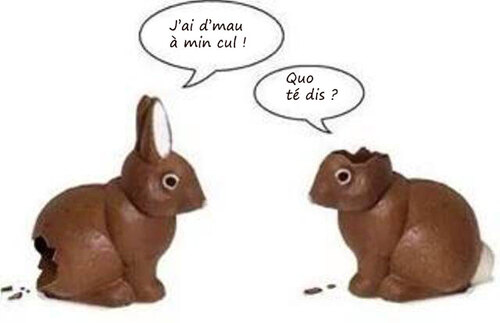 Bonnes fêtes de Pâques à tertous !