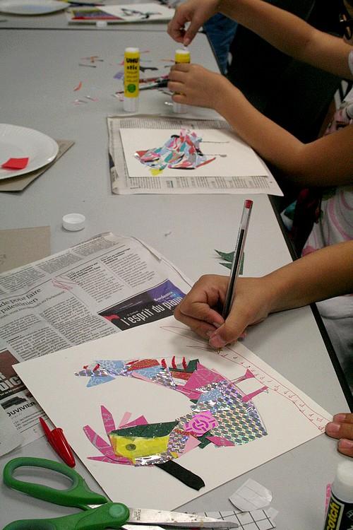 Les mercredis du Musée, activités artistiques et ludiques pour les enfants de 7 à 12 ans
