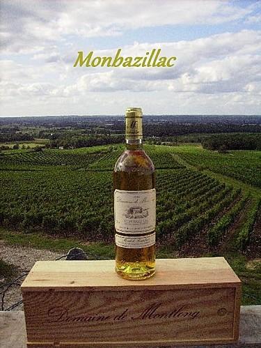 bouteille monbazillac