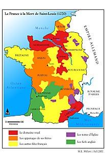France-1270-à-la-mort-de-Saint-Louis-Louis-9-Louis-IX-Roya