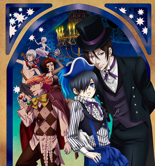 Black Butler Saison 3 : Book of Circus