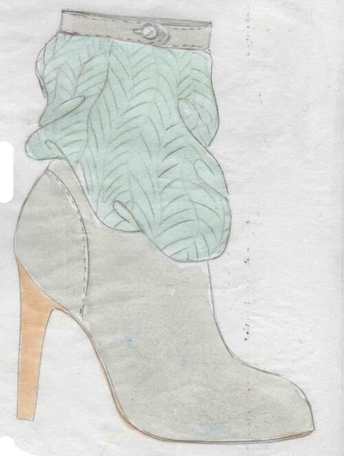 chaussures, talons, souliers, sandales