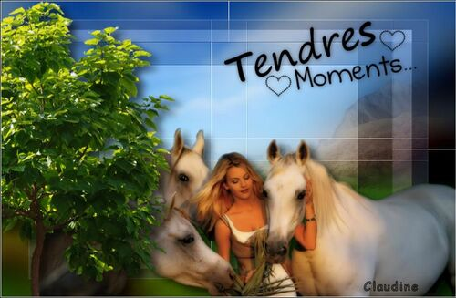 Tendre moment