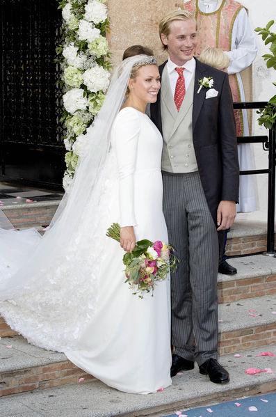 Mariage de Marie-Gabrielle, la petite-fille du grand-duc Jean de Luxembourg
