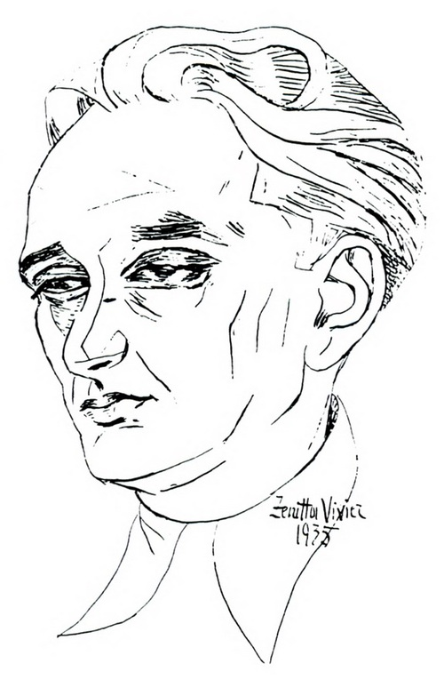 Robert Vivier, par Zenitta Vivier (couverture de L'homme et l'œuvre, 1994)