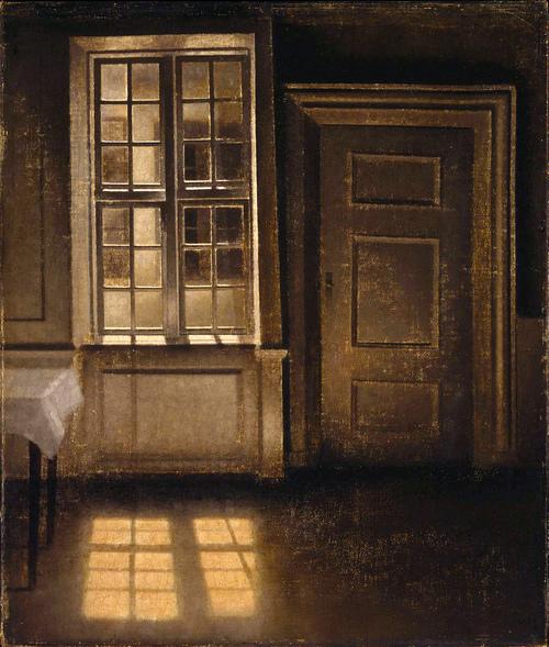 Vilhelm Hammershøi, peintre de l'intériorité