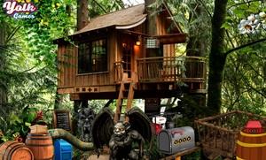 Jouer à Yolk Treasure tree house escape