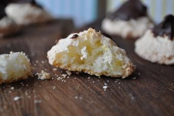 Minirochers à la noix de coco