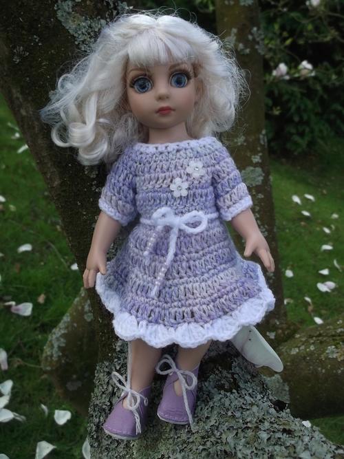 La robe mauve d'Iseline