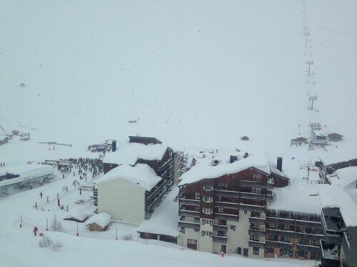 Nouvelle avalanche à Tigne - Savoie